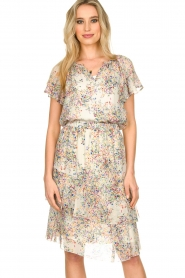 Set |  Skirt with floral print Marie | natural  | Picture 2
