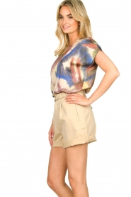 Set |  Tie dye printed top Tya | multi  | Picture 5