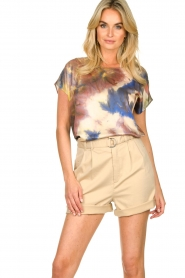 Set |  Tie dye printed top Tya | multi  | Picture 4