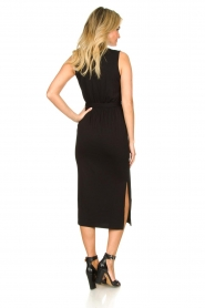Set |  Wrap dress Deta | black  | Picture 5