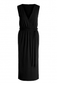 Set |  Wrap dress Deta | black  | Picture 1