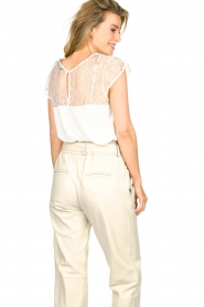 Set :  Lace top Bes | white - img2