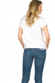 Set | T-shirt met opdruk Gypsy | wit   | Afbeelding 6