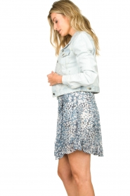 Set |  Short denim jacket Dyllan | blue  | Picture 6