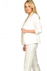 Set |  Classic white blazer Nikkie | white  | Picture 6