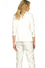 Set |  Classic white blazer Nikkie | white  | Picture 7