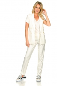Set |  Classic trousers Neri | white  | Picture 3