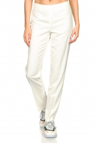 Set |  Classic trousers Neri | white  | Picture 4