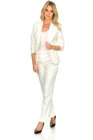 Set |  Classic trousers Neri | white  | Picture 2