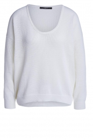 Set |  Ajour sweater Ya | white  | Picture 1