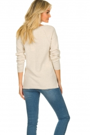 Knit-ted    Cotton sweater Raaf   beige    Picture 6