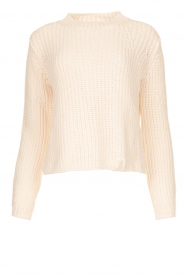Knit-ted |  Chunky knitted sweater Rens | naturel  | Picture 1