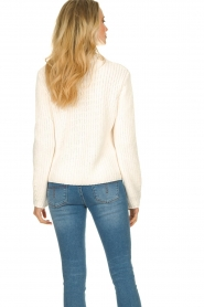 Knit-ted |  Chunky knitted sweater Rens | naturel  | Picture 6