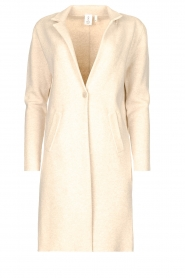 Knit-ted |  Long cardigan Sammie | beige  | Picture 1