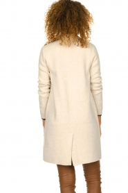 Knit-ted |  Long cardigan Sammie | beige  | Picture 6