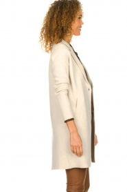 Knit-ted |  Long cardigan Sammie | beige  | Picture 5