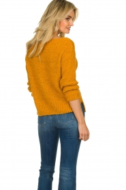 Knit-ted |  Knitted sweater Pleun | orange  | Picture 6
