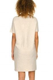 Knit-ted |  Lightweight knitted dress Robin | beige   | Picture 5