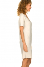 Knit-ted |  Lightweight knitted dress Robin | beige   | Picture 4