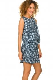 Knit-ted | Short met print Roline | blauw   | Afbeelding 2
