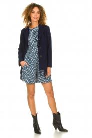 Knit-ted | Short met print Roline | blauw   | Afbeelding 3