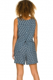 Knit-ted | Short met print Roline | blauw   | Afbeelding 5