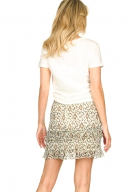 Knit-ted   T-shirt met tekstprint Marian   white    Picture 6