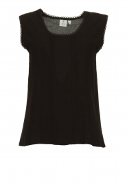 Knit-ted |  Playfull top Grace | black  | Picture 1