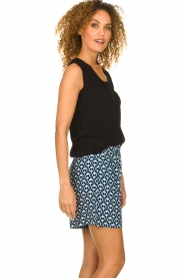 Knit-ted |  Playfull top Grace | black  | Picture 5
