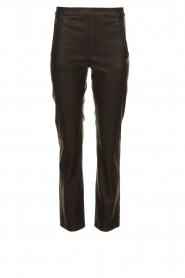 Knit-ted    Faux leather leggings Merle   black    Picture 1