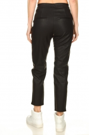 Knit-ted |  Faux leather leggings Merle | black  | Picture 5