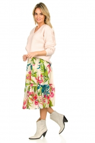 Lolly's Laundry |  Floral printed skirt Morning | multi  | Picture 4