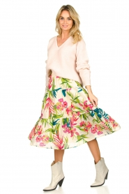 Lolly's Laundry |  Floral printed skirt Morning | multi  | Picture 2