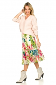 Lolly's Laundry |  Floral printed skirt Morning | multi  | Picture 5