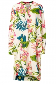 Lolly's Laundry |  Floral printed midi dress Lucca | multi  | Picture 1