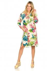 Lolly's Laundry | Katoenen jurk met bloemenprint Lucca | multi  | Afbeelding 3