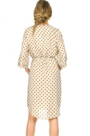 Lolly's Laundry |  Polkadot dress Amanda | natural  | Picture 6