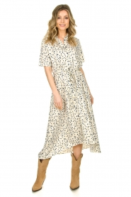 Lolly's Laundry | Dress with dots Dolly | white  | Picture 4