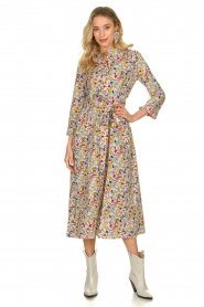 Lolly's Laundry |  Printed midi dress Harper | multi  | Picture 2