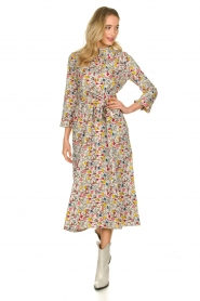 Lolly's Laundry |  Printed midi dress Harper | multi  | Picture 3
