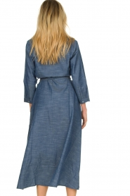 Lolly's Laundry |  Maxi jurk Nicole | blue  | Picture 6