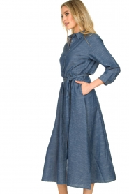 Lolly's Laundry |  Maxi jurk Nicole | blue  | Picture 5