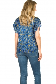 Lolly's Laundry |  Top with print Isabel|blue  | Picture 7