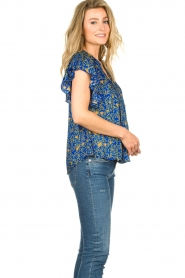 Lolly's Laundry |  Top with print Isabel|blue  | Picture 6