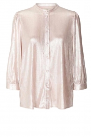 Lolly's Laundry |  Shiny blouse Amalie | nude  | Picture 1