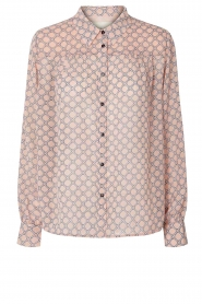 Lolly's Laundry |  Print blouse Molly | pink  | Picture 1