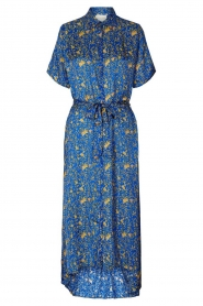 Lolly's Laundry |  Maxi dress with print Blake|blue  | Picture 1