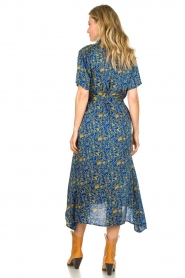 Lolly's Laundry |  Maxi dress with print Blake|blue  | Picture 6