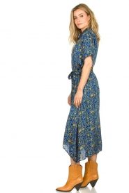 Lolly's Laundry |  Maxi dress with print Blake|blue  | Picture 5