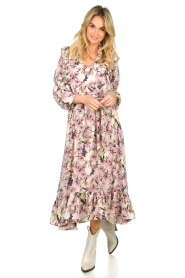 Lolly's Laundry | Maxi jurk met print Sanni | print  | Afbeelding 2